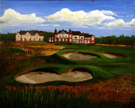 18th Royal Lytham and St Anne by RoboRobBonsai