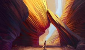 Canyon by Lyraina