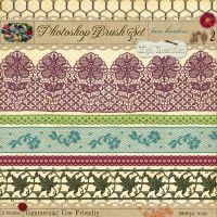 Lace Borders No. 2 by starsunflowerstudio