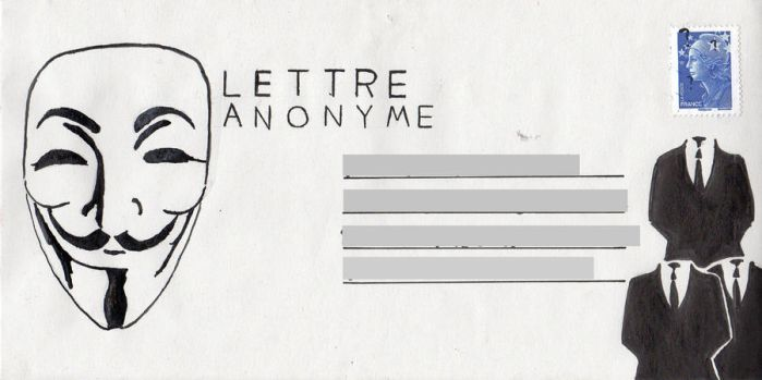 Lettre anonyme by Zeromms