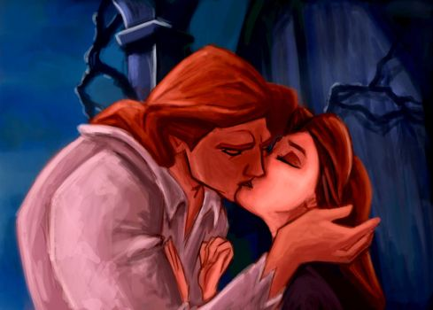 Kiss: Beauty and the Beast by ChristyTortland