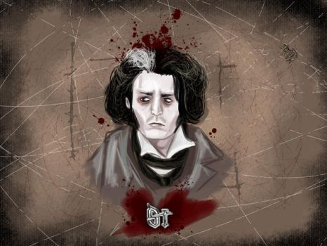 Sweeney Todd walpapper by TheMadRose