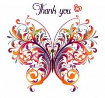 Thank you butterfly by bast4cats