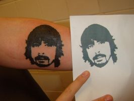 Dave Grohl Tattoo Pics