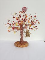 Winnie the Pooh and Balloon Wire Sculpture by etodorut