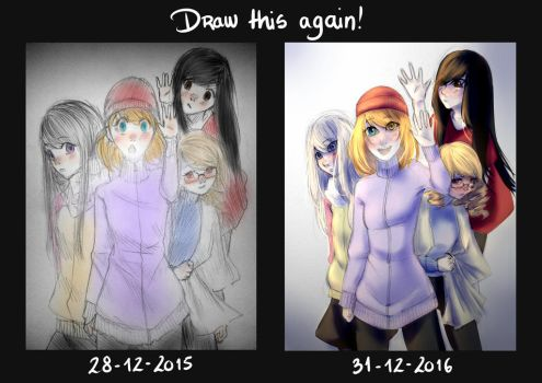 2016 Improvement challenge!! |Witches| by Joacasbar