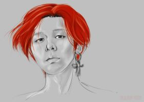 GD! SUDDENLY!! RED!!!! by MaruGin