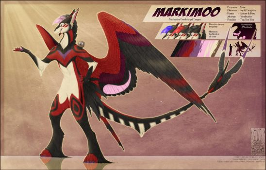 Personal - Markimoo Portable Ref Sheet by TwilightSaint