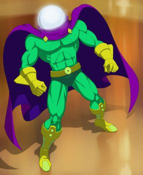 spider man the animated series mysterio by stalnososkoviy