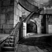 Lighthouse Stairs by Pajunen