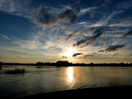 Wisps and Clouds in the Sky by Michies-Photographyy