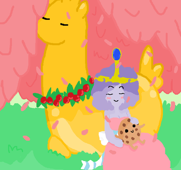 Princess Candy and her wards by HyperNeko-chan2