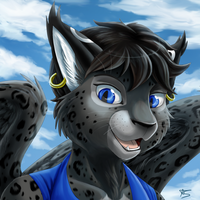 Com: Catwing -Anthro- by DragginCat