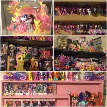 My pony collection! (2/2) by LavenderLilic