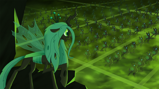 My Little Pony - Queen Chrysalis Be Prepared by kaizerin