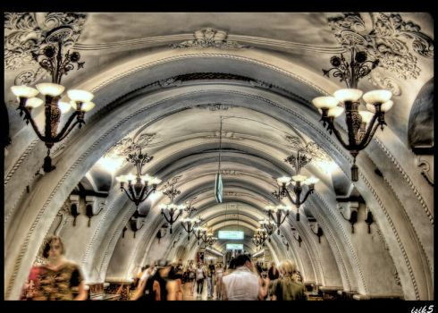 Under the Shelters HDR by ISIK5