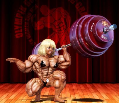Denise Weights by lolimuscle