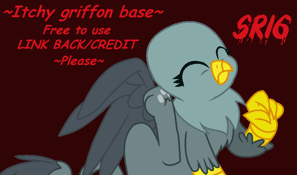 Itchy griffon Base by SuperRosey16