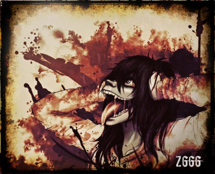 Cry  (Jeff the killer) by Zlata666
