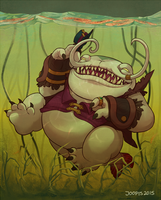 Tahm Kench by TheJoopis