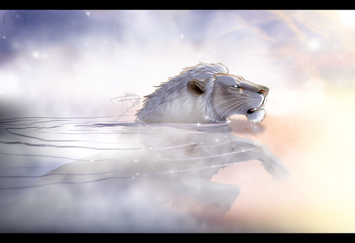 Ghost in the morning water by DJ88