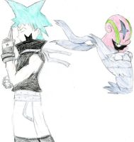Black Star and Accelgor