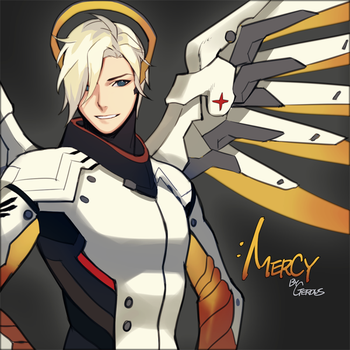 Overwatch  Mercy  Male Ver. by Gearous