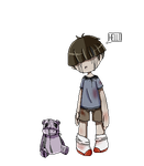 (Prize) - The Demented Boy by ScaringSaige