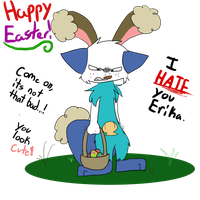 PMD: EoH - Happy Easter! by Evildraws