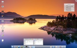 My desktop by Eledin