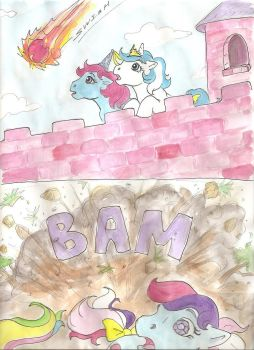 My Little Pony Comic (page 3) by foxspotted