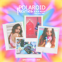 Polaroid Frames .png by MermaidTropics