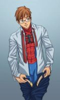 Peter Changing Clothes by nursury0