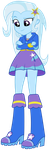 MLP EQG - The Great and Powerful TRRRRIXIE! by FloppyChiptunes