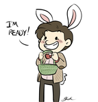 Bunny!Doctor is ready by caycowa