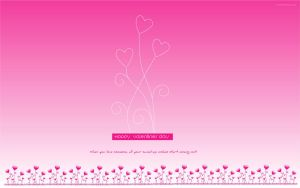 Pink Valentines: Wallpapers by moneyzeal