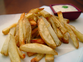 Oven french fries by maytel
