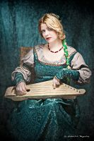Renaissance musician by Costurero-Real