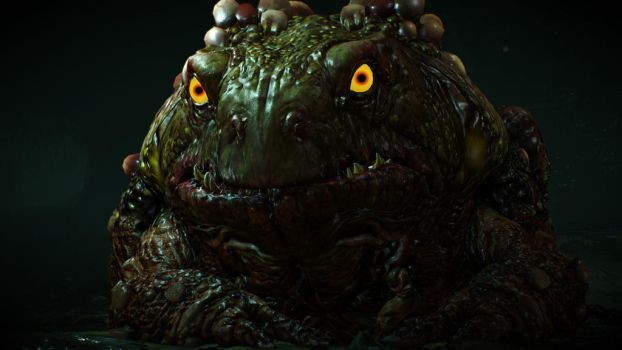 The Hypnotoad of Hugeness by Trinsec