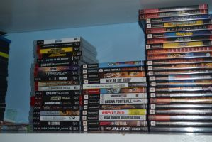 My Playstaion Collection by Jaws1996