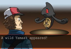 A WILD YAMASK APPEARED by thdark
