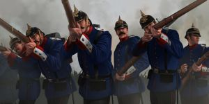 The prussians 2 by RobbieMcSweeney