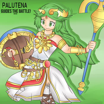 Palutena Guides The BATTLE!(maybe) by thegamingdrawer