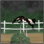 ~ Free Jumping 1 ~ by Colors-Stables