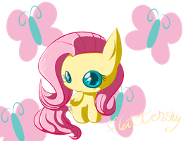 Chibi Fluttershy by Chaomaster1