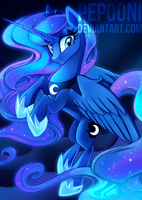 Princess Luna - Bronycon 2015 SCRAPPED by pepooni