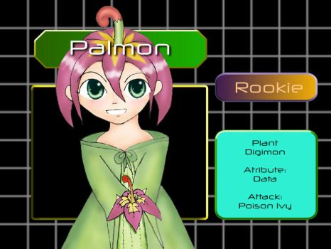 Palmon Gijinka by necrorealms