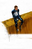 Spidey symbiote color by Balla-Bdog