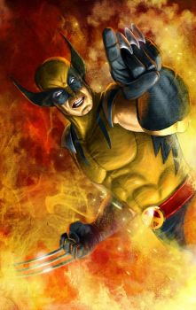Wolverine (I came for you) by Prestegui