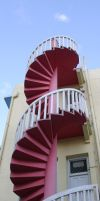 Spiral Staircase 3 by Rivendell-PhotoStock